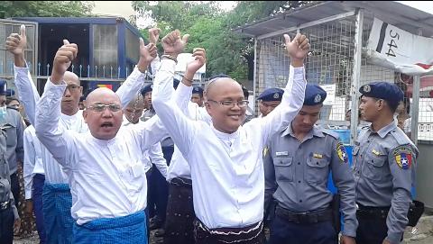 မန်းသပိတ်စခန်းတွင် ပါဝင်သူများအား စတုတ္တအကြိမ်ရုံးထုတ်