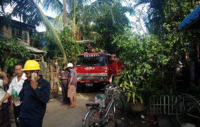 သာကေတမြို့နယ်၊ ၄/တောင် ရပ်ကွက်၊ အောင်သစ္စာ ၃လမ်း မီးလောင်မှုဖြစ်ပွားကြောင်း
