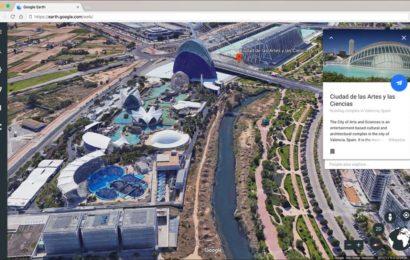 Google Earth ကို မကြာမီ Firefox ဖြင့် သုံးနိုင်မည်