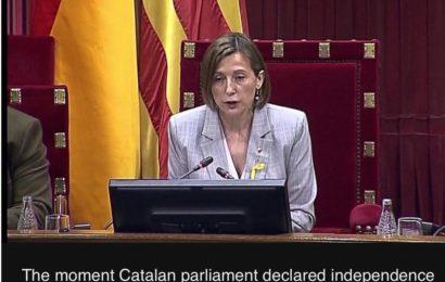 ကတ်တလန်ပြည်နယ် စပိန်ကခွဲထွက်ကြောင်း ကြေငြာ