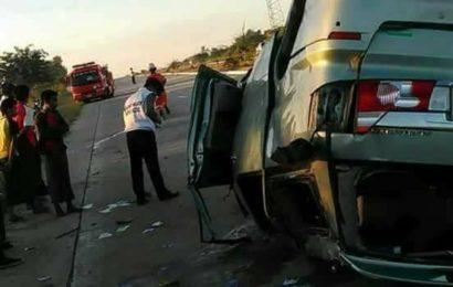 ၂၀၁၇အတွင်း ရန်ကုန်-မန္တလေးလမ်းမကြီးတွင် ယာဉ်မတော်တဆမှု ၅၅၅ကြိမ်ဖြစ်ပေါ်ခဲ့ပြီး သေဆုံးသူတစ်ရာ ကျော်နေ