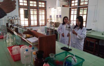 မကွေးတိုင်းစိုက်ပျိုးရေးဦးစီးဌာန၏ ဓာတ်ခွဲခန်း၌မြေဆီလွှာစစ်ဆေးမှု လုပ်ဆောင်နိုင်