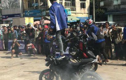 ပုသိမ်မြို့၌ ပထမဆုံးအကြိမ် ဆိုင်ကယ်စတန့်ပြပွဲ ကျင်းပပြုလုပ်