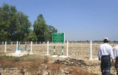 ဆားငန်ရေဝင်ရောက်မှုမရှိစေရေး ရေထိန်းတံခါး၊ တူးမြောင်းများ၊ သောက်သုံးရေကန်များအား ဧရာဝတီတိုင်း စိုက်/ မွေးဝန်ကြီး ကြည့်ရှုစစ်ဆေး