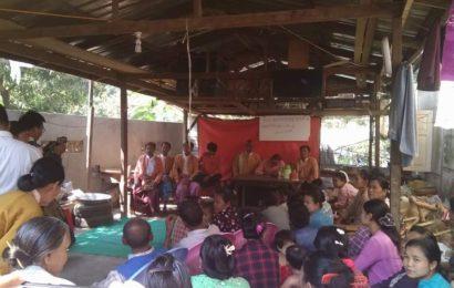 ကြံ့ခိုင်ရေးပါတီ၏ စွပ်စွဲချက်နှင့် ဆူပူမှုကိစ္စ တံတားဦးမြို့နယ်တွင် သတင်းစာရှင်း