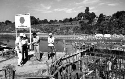သရက်ခရိုင်အတွင်း ဂျပန်နည်းပညာဖြင့် ချောင်းကူးတံတားများ တည်ဆောက်