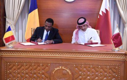 သံတမန်ဆက်ဆံရေး ပြန်လည်စတင်ရန် ကာတာနှင့်ချက်ဒ် နားလည်မှုစာချွန်လွှာ လက်မှတ်ထိုး