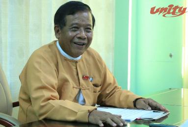 မန္တလေးတိုင်းဒေသကြီး ဝန်ကြီးချုပ် ဒေါက်တာဇော်မြင့်မောင်နှင့် တွေ့ဆုံမေးမြန်းခြင်း