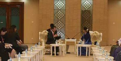 ပြည်တွင်းငြိမ်းချမ်းရေးနှင့် အမျိုးသားပြန်လည်သင့်မြတ်ရေး ဆွေးနွေးပွဲများ နေပြည်တော်တွင်ကျင်းပ