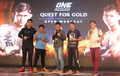 ONE: QUEST FOR GOLD ပွဲစဉ်အတွက် ပထမပွဲစဉ်တွဲဆိုင်းများ အတည်ပြုကြေညာ