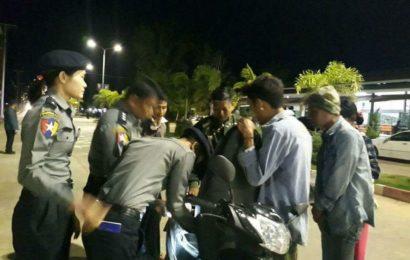 ပုသိမ်မြို့တွင် ပြည်သူ့ဘဝလုံခြုံရေးအတွက် တုတ်၊ ဓား၊ လက်နက် ကိုင်ဆောင်မှုများ စစ်ဆေး