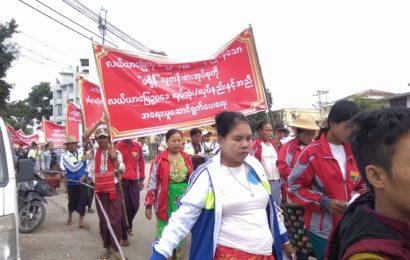 မန္တလေးတိုင်းဒေသကြီးမှ လယ်ယာမြေအသိမ်းခံတောင်သူများ စုပေါင်း၍ အဂတိလိုက်စားမှု တိုက်ဖျက်ရေးကော်မရှင်သို့ တိုင်ကြားစာပေးပို့