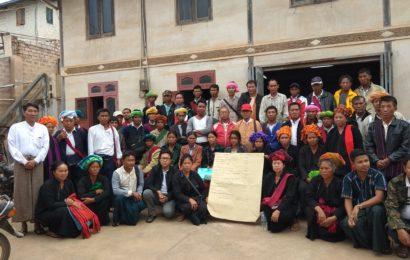 သိမ်းဆည်းခံမြေယာကိစ္စ စာရင်းဇယားများတင်ပြနိုင်ရန် တောင်သူများ တောင်ကြီးမြို့တွင် ဆွေးနွေး