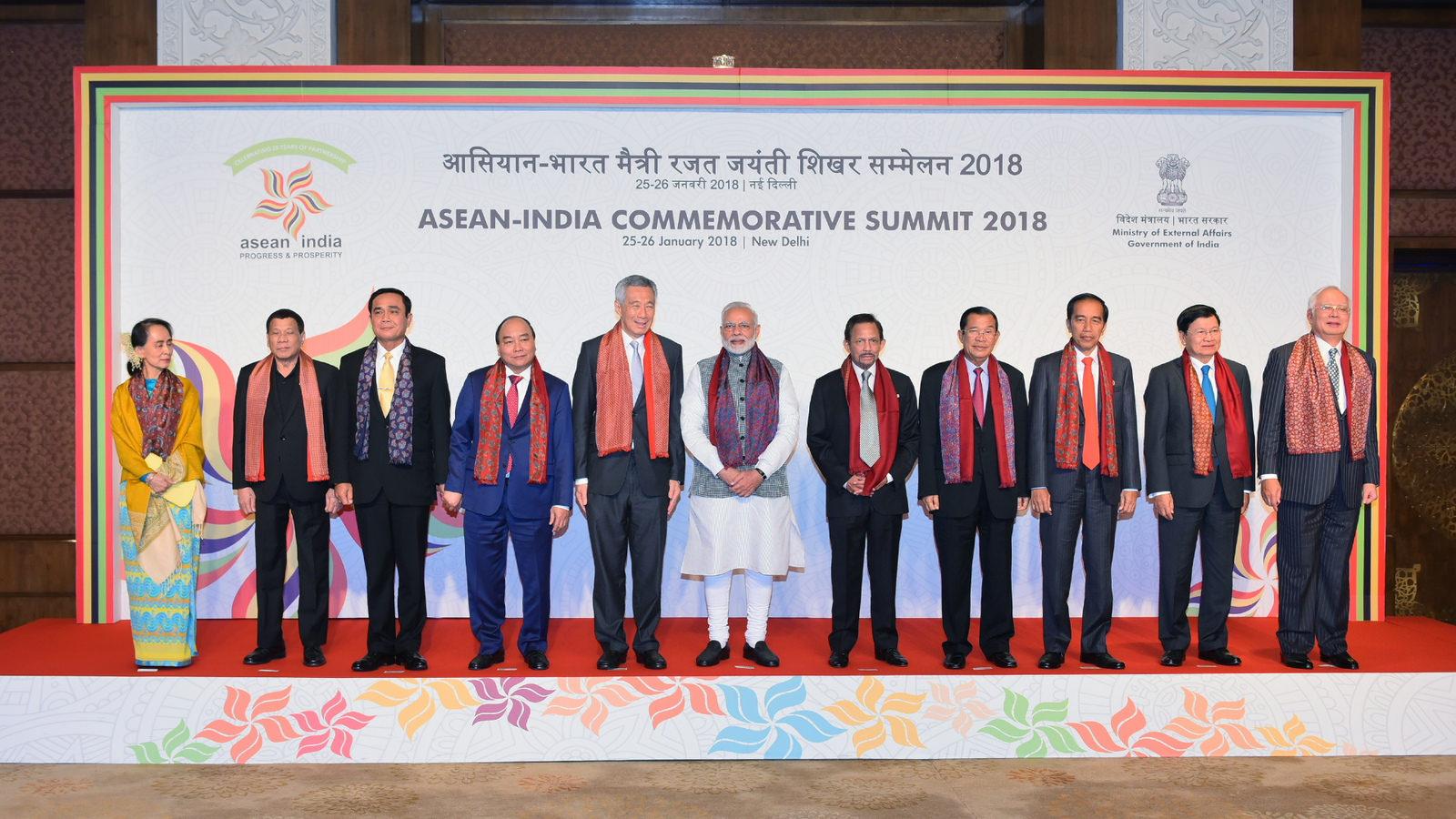 အာဆီယံ  -အိန္ဒိယ ၂၅ နှစ်ခရီးမှသည် ထိုထက်ကျော်လွန်၍