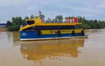 Yangon Water Bus နှစ်ထပ်ယာဉ်ဖြင့် သန်လျင်ရေလယ်ကျောက်တန်း ဘုရားဖူးနိုင်ပြီ