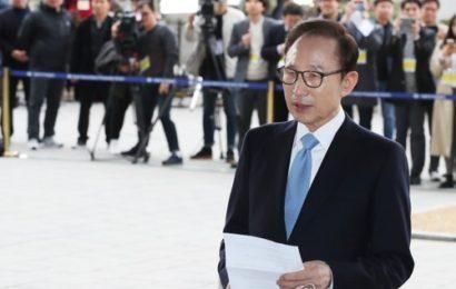 ခြစားမှုစွဲချက်များဖြင့် အမှုရင်ဆိုင်နေရသော တောင်ကိုရီးယားသမ္မတဟောင်း အီမြောင်ဘက်ကို ရုံးထုတ်