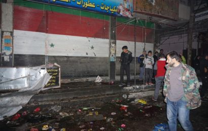ဆီးရီးယားရှိ လူစည်ကားသောဈေးကို ဒုံးကျဉ်ဖြင့်တိုက်ခိုက်မှုကြောင့် ၃၅ ဦးသေဆုံး