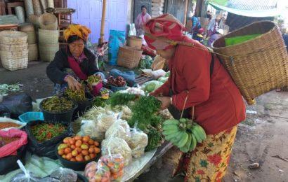 တောင်ကြီးမြို့တွင် သင်္ကြန်နားနီး၍ စားသောက်ကုန်ပစ္စည်းများ ရောင်းအားကောင်း