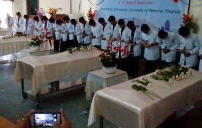 ရုပ်အလောင်းအလှူရှင်များ ဆေးတက္ကသိုလ်(မကွေး) လိုအပ်