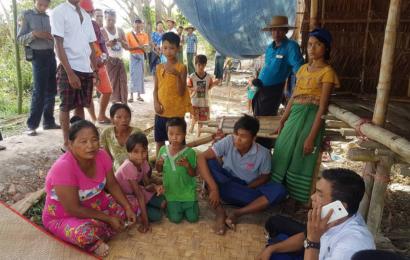 မြန်မာပြည်လား ငရဲ၊ တိရစ္ဆာန်ဘုံကြီးလား  သို့မဟုတ် မကရင်မရဲ့ ကြေကွဲစရာ အိမ်အပြန်ခရီးဆိုး