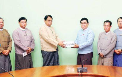 မြန်မာနိုင်ငံ ရုပ်ရှင်အစည်းအရုံးနဲ့ ဗွီဒီယိုအခြေခံအဖွဲ့က ရေဘေးအတွက် ကျပ်သိန်း ၁၅၀ လှူဒါန်း