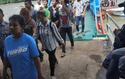 ရနောင်းမြို့ လူသတ်မှုမှ ထောင်ဒဏ်ကျ မြန်မာရေလုပ်သ ား (၂) ဦး ပြန်လည်လွတ်မြောက်
